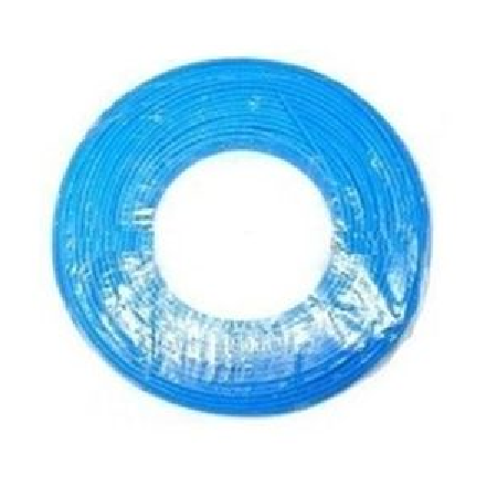 1 m Cable flexible 1x4 azul