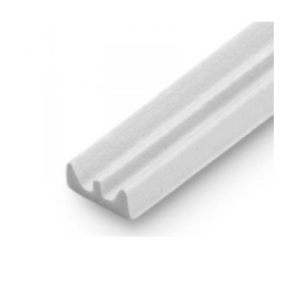 Burlete blanco de caucho para ventanas y puertas - Burlete para puertas ...