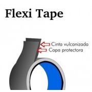 Cinta de caucho flexible y vulcanizable Flexi Tape