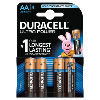 4 Pilas alcalinas R6 Duracell Ultra Power